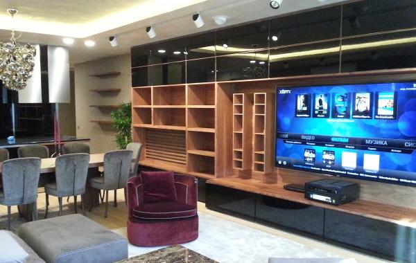 Аудио-Видео дистрибуция в апартамент с четири зони