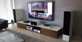 Апартамент с хибриден  9 канален Dolby Atmos – таванни и подови тонколони